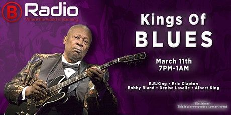 KINGS OF BLUES MARCH MADNESS MUSIC MARATHON LIVE ON NAA B-RADIO tickets