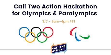 Call Two Action Hackathon for USOPM entradas