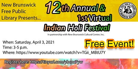 Virtual Indian Holi Festival tickets