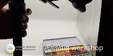 Painting Workshop - Watercolor, Oil, Acrylics tickets