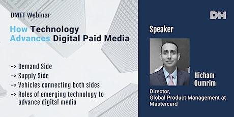 How Technology Advances Digital Paid Media tickets