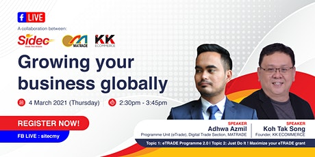 Growing Your Business Globally tickets