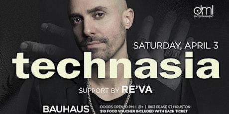 Technasia @ Bauhaus tickets