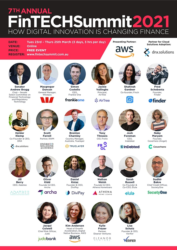 7th Annual FinTech Summit 2021 image
