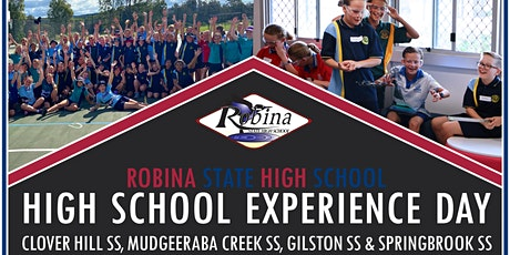 Robina SHS Year 6 High School Experience Day 1 tickets