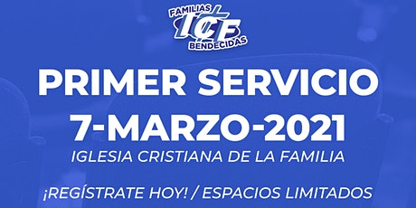 Servicio ICF - 7 de marzo de 2021 - Primer Servicio - 8AM tickets