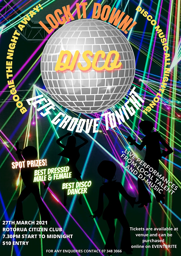 Disco - Let's Groove Tonight (Live & DJ Music) image