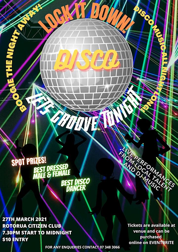 Disco - Let's Groove Tonight (Live & DJ Music) image