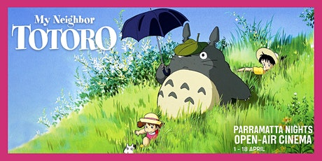 Parramatta Nights Open-Air Cinema: My Neighbor Totoro (G) tickets