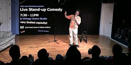 Tim's Joke Workshop presents: Live Stand-up Comedy tickets