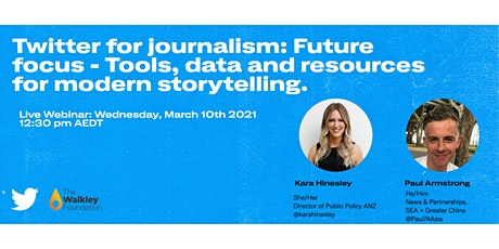 Twitter for journalism: Future Focus tickets