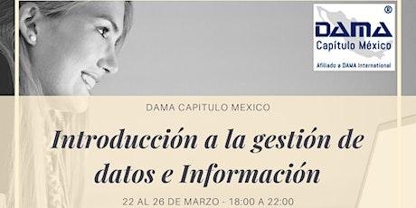 Introducción a la Gestión de Datos e Información entradas