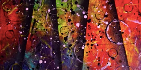Paint Night @ Ironhand Winery: Colorful Abstract tickets
