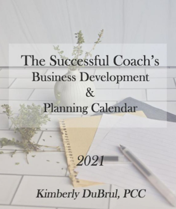 Post Book Launch Celebration for Kim's New 2021 Coaches' Planning Calendar image