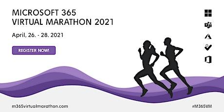 Microsoft 365 Virtual Marathon 2021 tickets