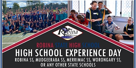 Robina SHS Year 6 High School Experience Day 2 tickets