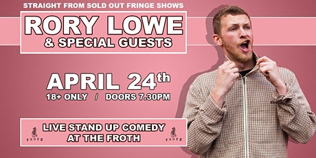 Rory Lowe - Stand Up Comedy at Froth Brewery tickets
