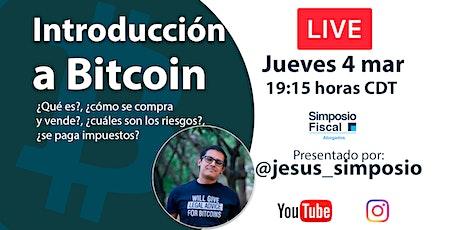 Introducción a Bitcoin y Criptomonedas entradas