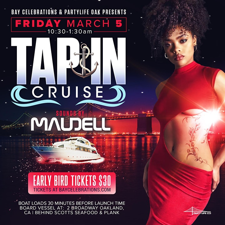 TAP IN CRUISE OAKLAND image