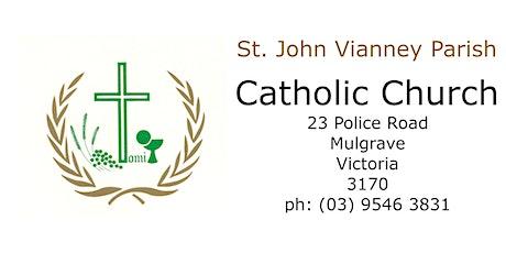 Easter Vigil Mass - Saturday 6.30pm tickets