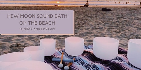 New Moon Sound Bath on the Beach tickets