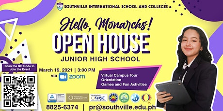 Southville JHS Open House (for Grade 7 Students and their Parents) tickets