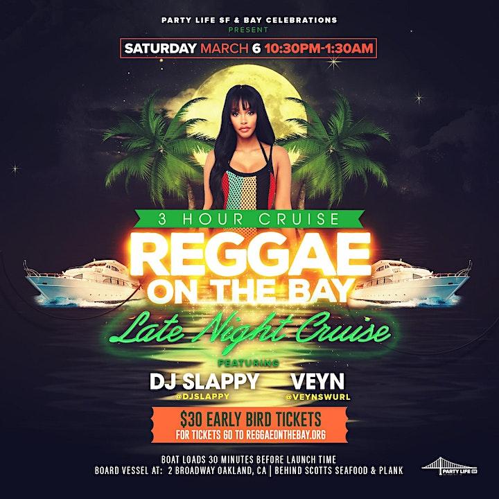 Reggae on the Bay Latenight Cruise image