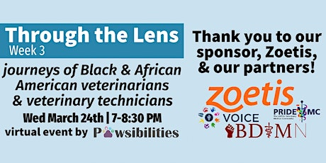 Through the Lens: Journeys of Black and African American  Vets & Vet Techs tickets