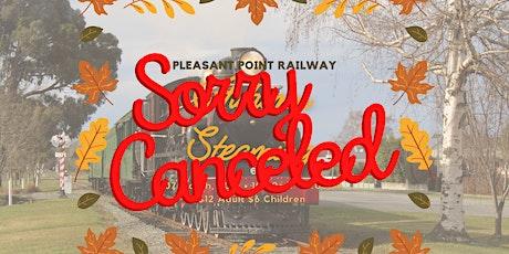 Autumn Steaming at Pleasant Point Rail tickets