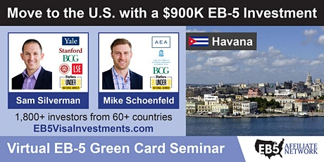 U.S. Green Card Virtual Seminar – Havana, Cuba tickets