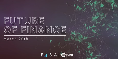 FISA Presents: Future of Finance tickets