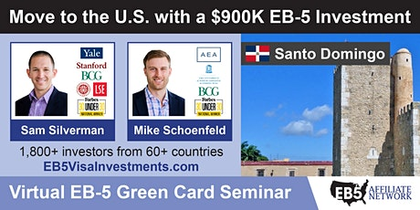 U.S. Green Card Virtual Seminar – Santo Domingo, Dominican Republic ingressos
