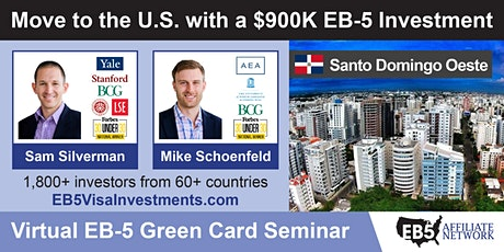 U.S. Green Card Virtual Seminar – Santo Domingo Oeste, Dominican Republic ingressos