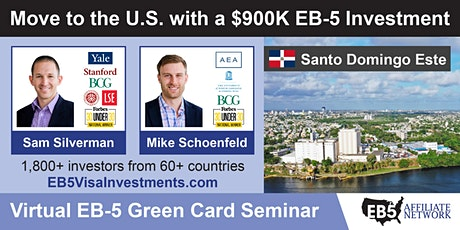 U.S. Green Card Virtual Seminar – Santo Domingo Este, Dominican Republic ingressos