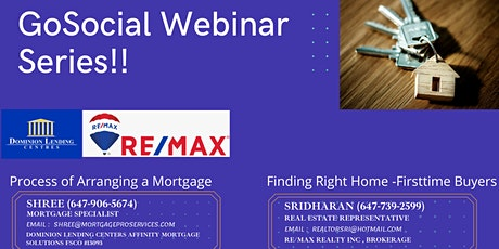 GoSocial Webinar Series - Real Estate & Mortgage tickets