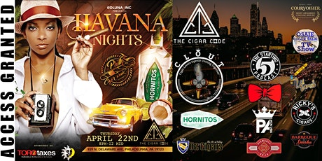 DLUNAR, INC & PHILLY CIGAR WEEK PRESENTS HAVANA NIGHTS AT THE CIGAR CODE tickets