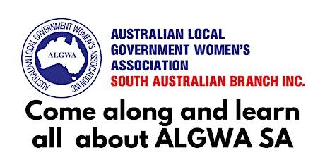 ALGWA Fleurieu Forum tickets