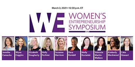 2021 Women's Entrepreneurship Symposium (WES) kickoff tickets