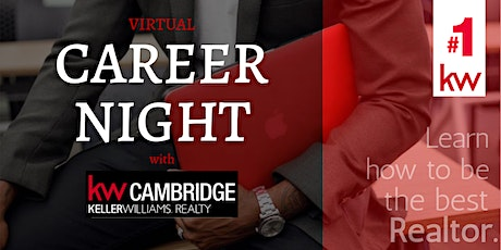 VIRTUAL CAREER NIGHT with Keller Williams Cambridge tickets