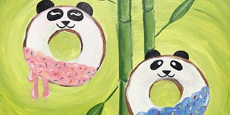 Painting Class+ Admission to Donut Life Museum 'Panda Donuts' tickets