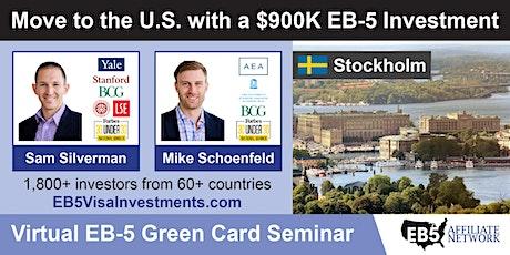 U.S. Green Card Virtual Seminar – Stockholm, Sweden tickets