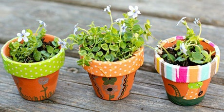 School Holidays Activities - Decorate Plant Pots tickets