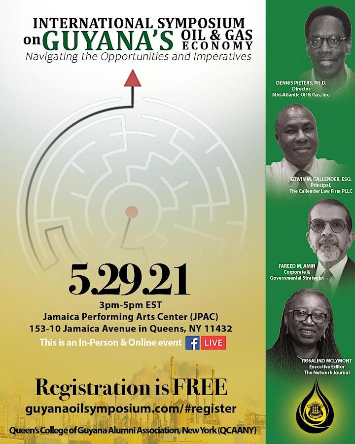 International Symposium on Guyana's Oil & Gas Economy image