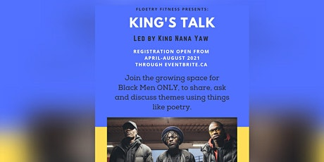 King's Talk April-August by Floetry Fitness tickets