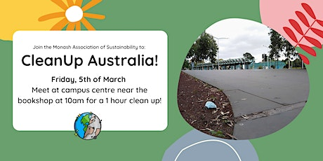Cleanup Australia event tickets