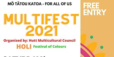Hutt City Multifest 2021 tickets