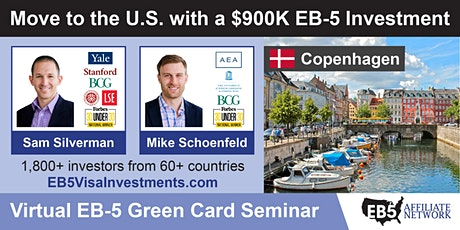 U.S. Green Card Virtual Seminar – Copenhagen, Denmark tickets