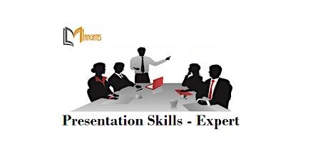Presentation Skills - Expert 1 Day Training in Napier tickets