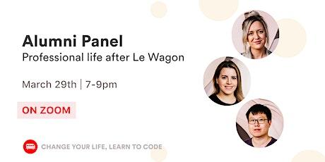 Le Wagon Talk: Alumni Panel tickets