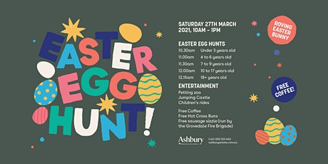 ASHBURY EASTER EGG HUNT! tickets